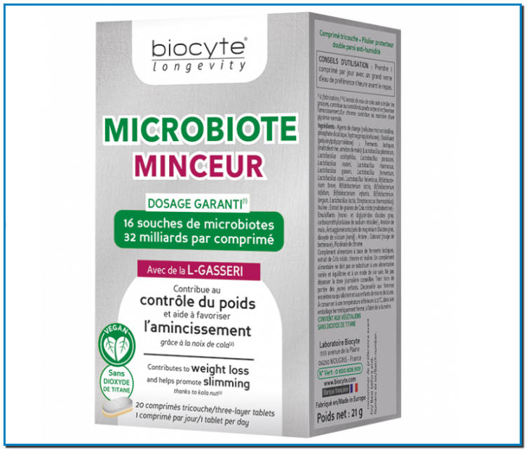 Comprar Microbiote minceur contrôle du poids et amincissement Le microbiote correspond à tous les virus, champignons ou encore bactiéries non pathogènes que l'on retrouve dans notre corps.