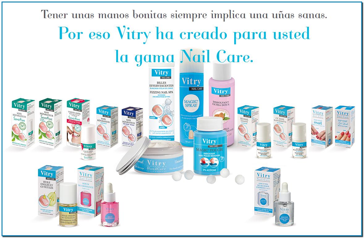 Comprar Vitry Nail Care en Farmacia Central Andorra se acabaron las uñas dañadas quebradizas y desdobladas