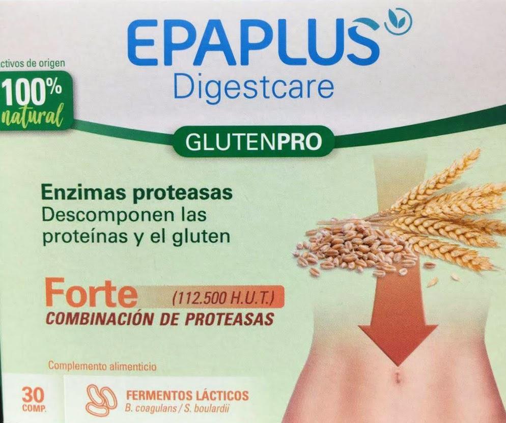 Digestcare GlutenPro favorece la descomposición del gluten contribuyendo a su metabolización gracias a la triple combinación de enzimas proteasas.