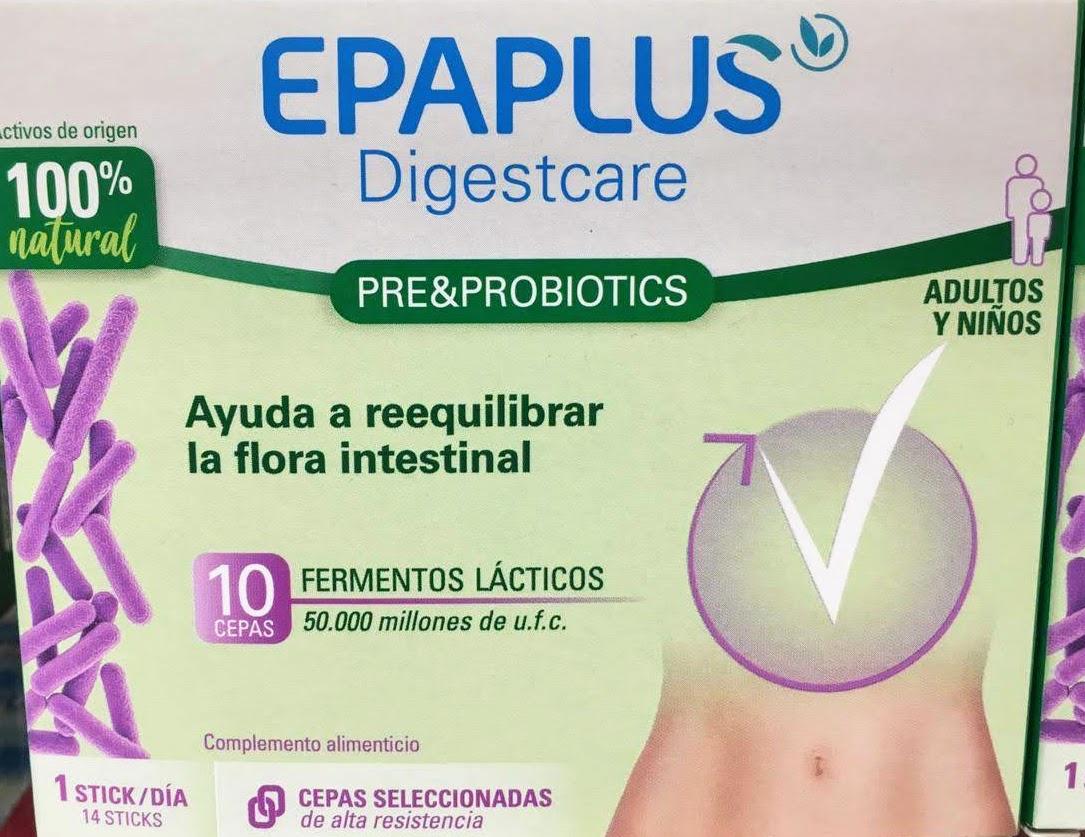 Epaplus Digestcare LactoPro aporta lactasa la enzima responsable de la hidrólisis de la lactosa