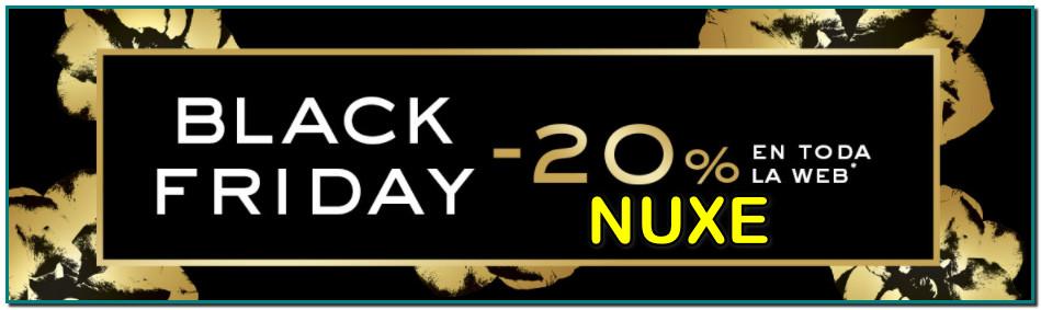 Nuxe Black Friday 20 % en toda la gama un clásico es el Aceite multiusos Huile Prodigieuse de Nuxe