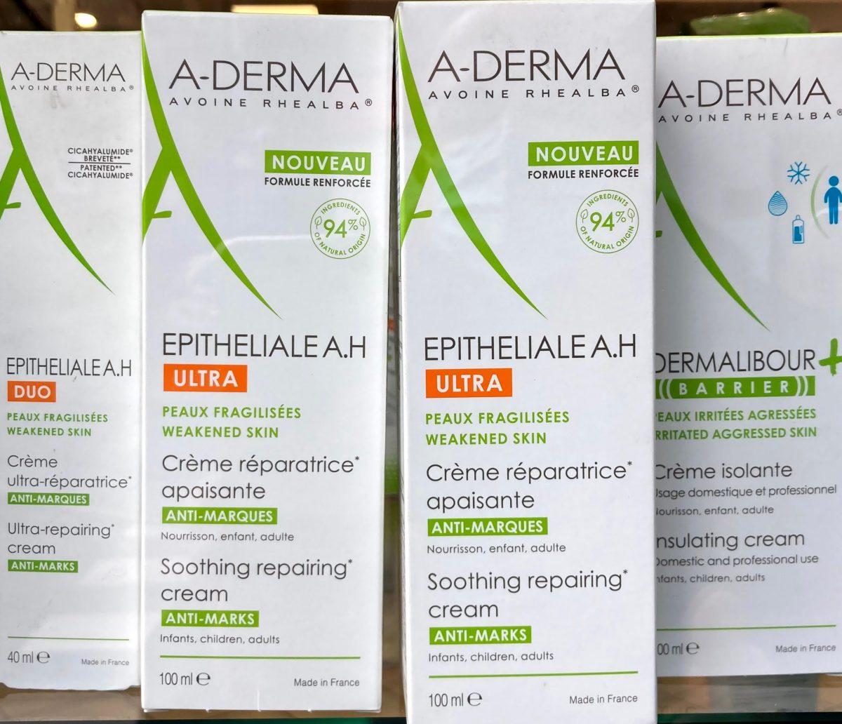 A-Derma Epitelial AH Crema Duo 100 ml Crema reparadora para las marcas de la piel con activos naturales.